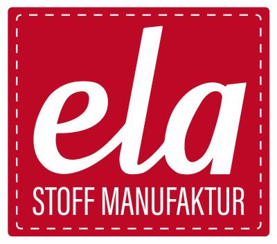 Ela Stoff Manufaktur-Logo